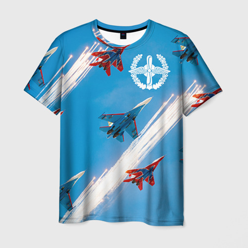 Мужская футболка 3D Самолеты