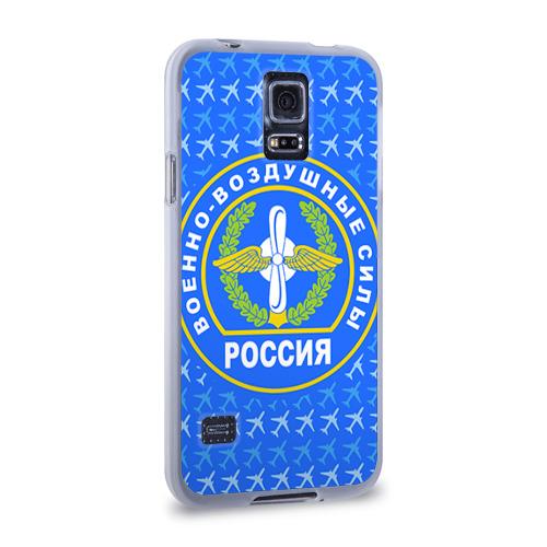Чехол для Samsung Galaxy S5 силиконовый  Фото 02, ВВС РОССИИ