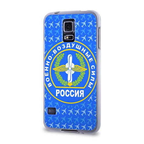 Чехол для Samsung Galaxy S5 силиконовый  Фото 03, ВВС РОССИИ