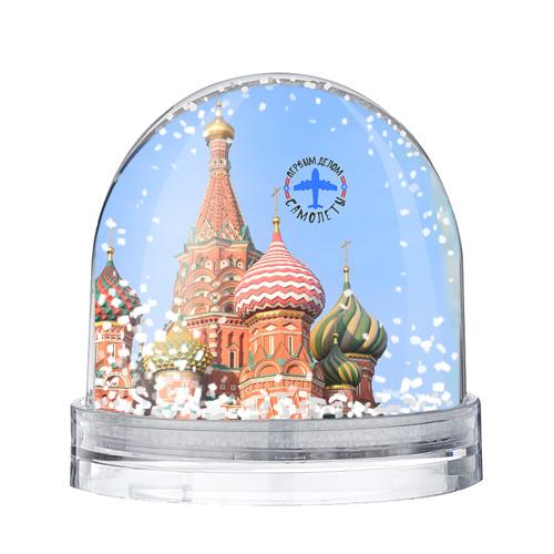 Водяной шар со снегом Русская авиация