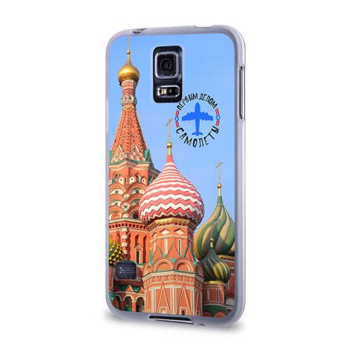 Чехол для Samsung Galaxy S5 силиконовый  Фото 03, Русская авиация