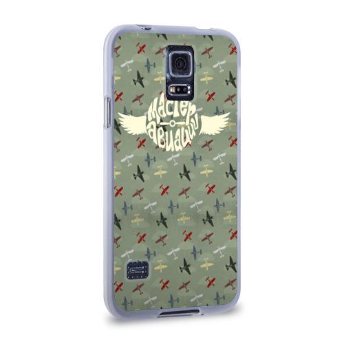 Чехол для Samsung Galaxy S5 силиконовый  Фото 02, Авиация
