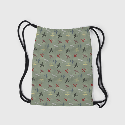 Рюкзак-мешок 3D Авиация Фото 01