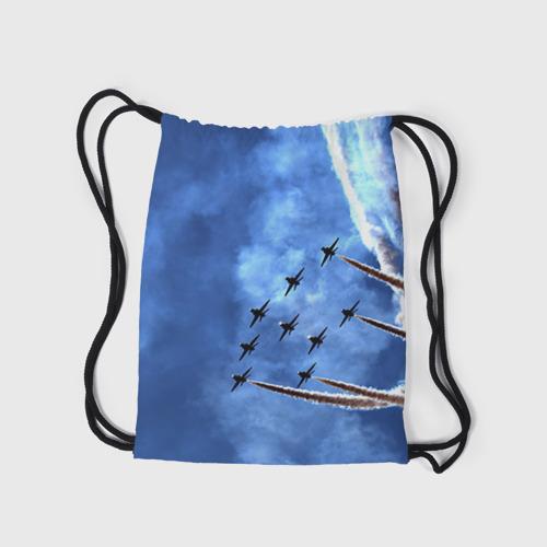 Рюкзак-мешок 3D  Фото 05, Самолеты в небе