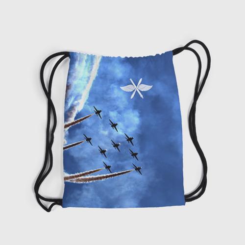 Рюкзак-мешок 3D  Фото 04, Самолеты в небе