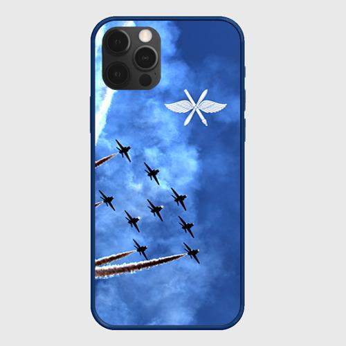 Чехол для iPhone 12 Pro Самолеты в небе Фото 01