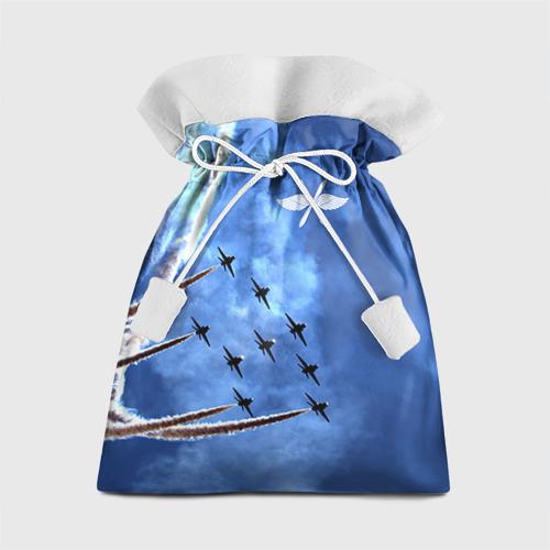 Подарочный 3D мешок Самолеты в небе