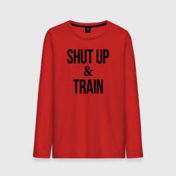 Shut up and train.2