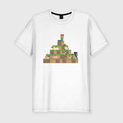 Вершина холма в Minecraft