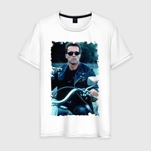 Мужская футболка хлопок Терминатор 2