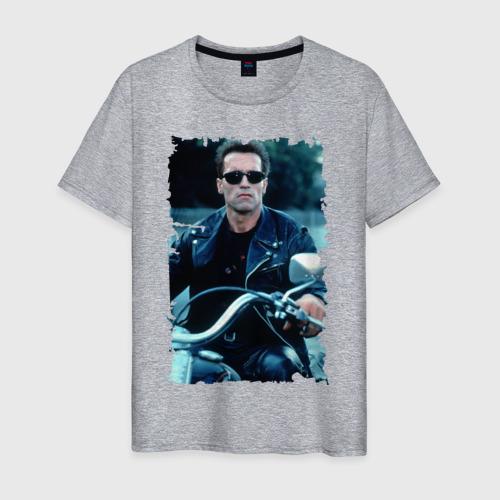 Мужская футболка хлопок Терминатор 2 Фото 01