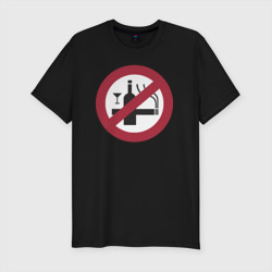 NO Smoking Alcohol Sign