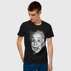 Энштейн показывает язык