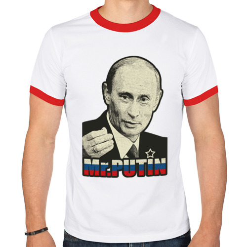 Мужская футболка рингер  Фото 01, Mr. Putin