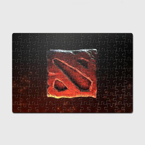Пазл магнитный 126 элементов  Фото 01, Logo Dota 2