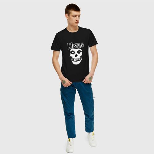 Мужская футболка хлопок Отбросы Фото 01
