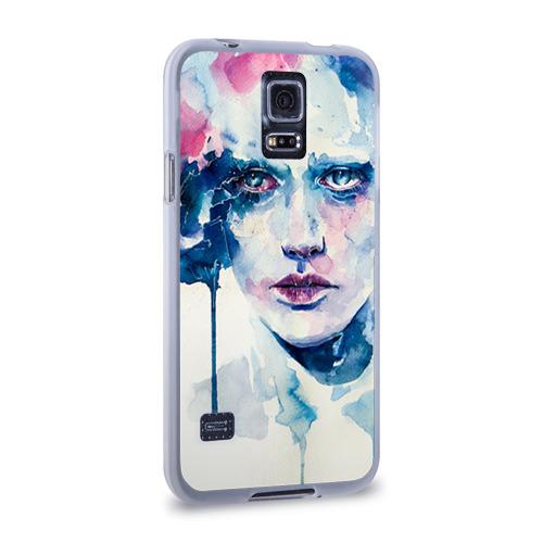 Чехол для Samsung Galaxy S5 силиконовый  Фото 02, Акварель