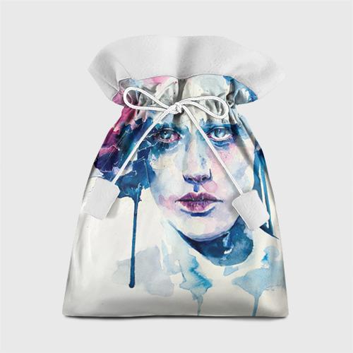 Подарочный 3D мешок Акварель