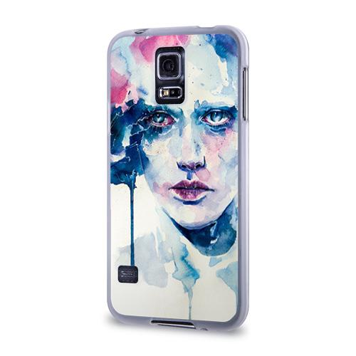 Чехол для Samsung Galaxy S5 силиконовый  Фото 03, Акварель