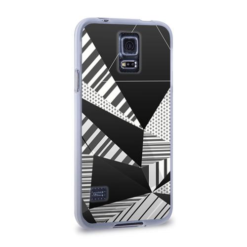 Чехол для Samsung Galaxy S5 силиконовый  Фото 02, Геометрия
