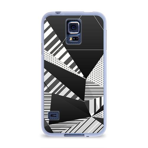 Чехол для Samsung Galaxy S5 силиконовый  Фото 01, Геометрия