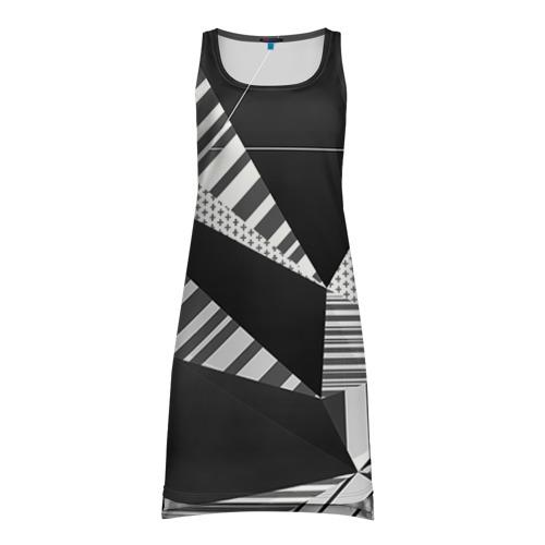Платье-майка 3D Геометрия