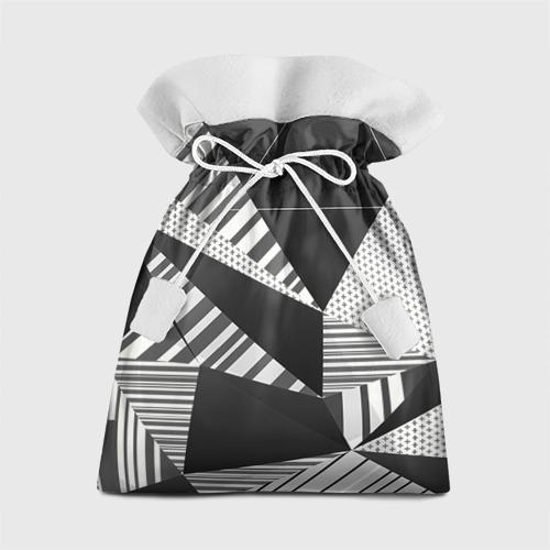 Подарочный 3D мешок Геометрия