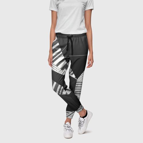 Женские брюки 3D Геометрия