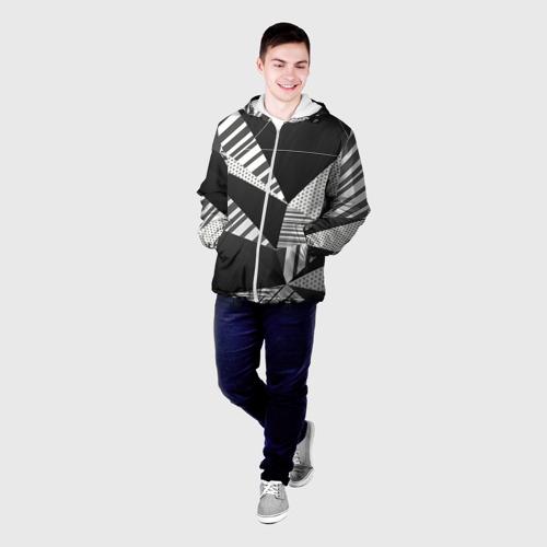 Мужская куртка 3D  Фото 03, Геометрия