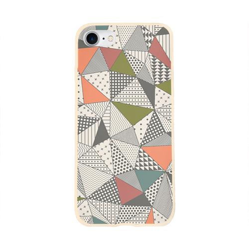 Чехол для Apple iPhone 8 силиконовый глянцевый  Фото 01, Геометрия