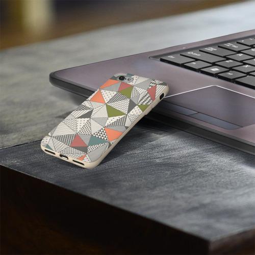 Чехол для Apple iPhone 8 силиконовый глянцевый  Фото 03, Геометрия