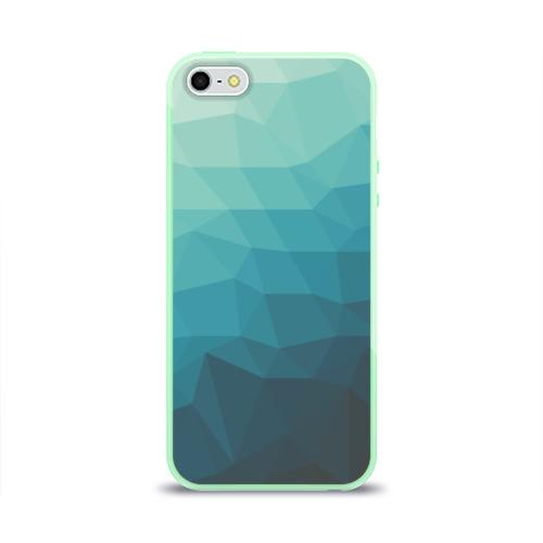 Чехол для iPhone 5/5S глянцевый Геометрия Фото 01