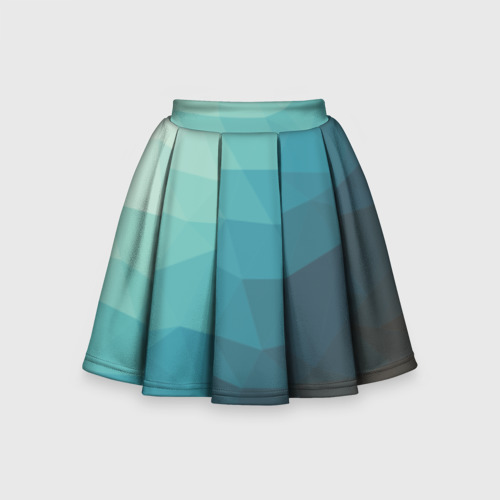 Детская юбка-солнце 3D Геометрия