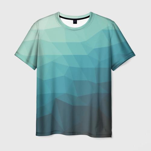 """Мужская футболка 3D с полной запечаткой """"Геометрия"""" - 1"""