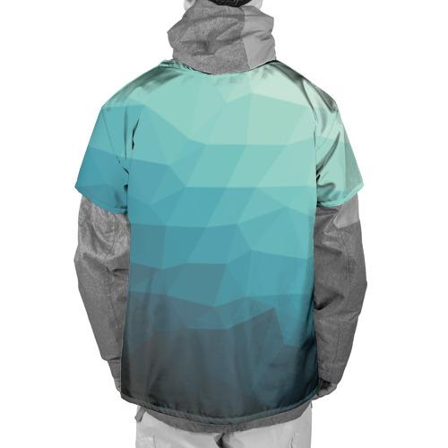 Накидка на куртку 3D Геометрия Фото 01