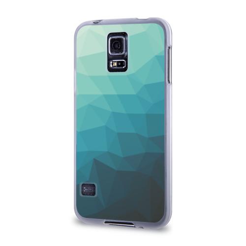 Чехол для Samsung Galaxy S5 силиконовый  Фото 03, Геометрия