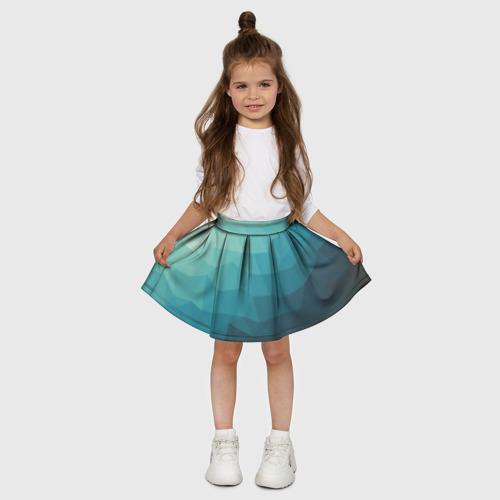 Детская юбка-солнце 3D Геометрия Фото 01