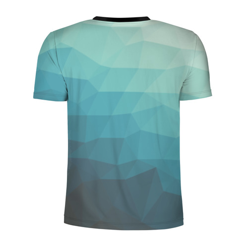 Мужская футболка 3D спортивная  Фото 02, Геометрия