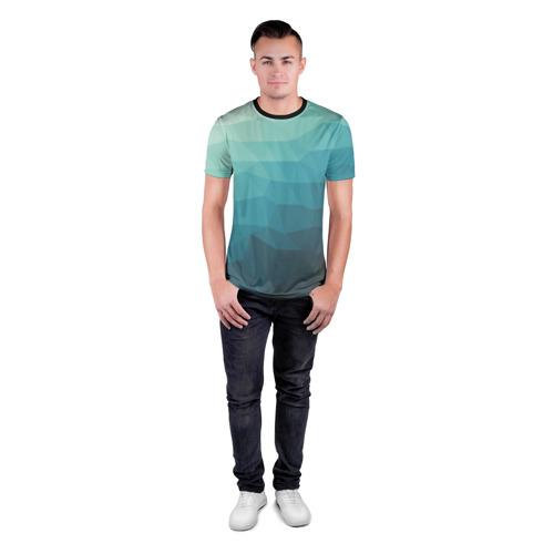 Мужская футболка 3D спортивная  Фото 04, Геометрия