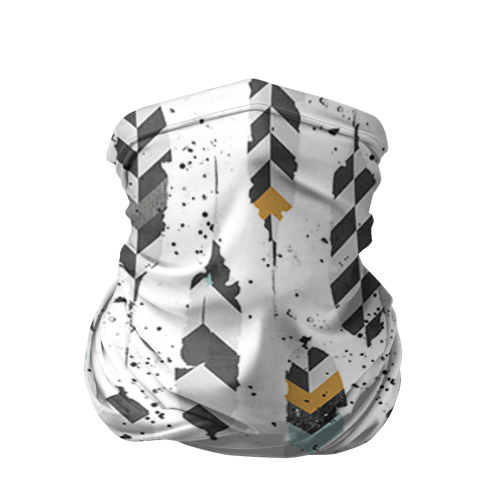 Бандана-труба 3D Перья