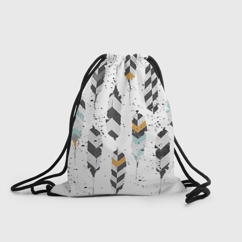 Рюкзак-мешок 3D Перья
