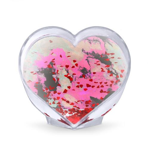 Сувенир Сердце  Фото 02, Краска