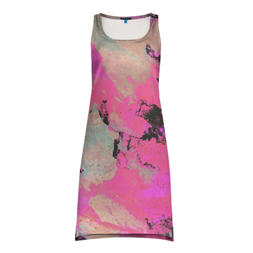 Платье-майка 3D Краска