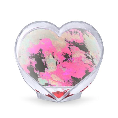 Сувенир Сердце  Фото 01, Краска