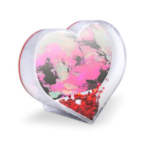 Сувенир Сердце  Фото 03, Краска