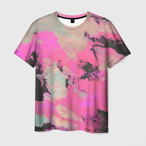 Мужская футболка 3D Краска