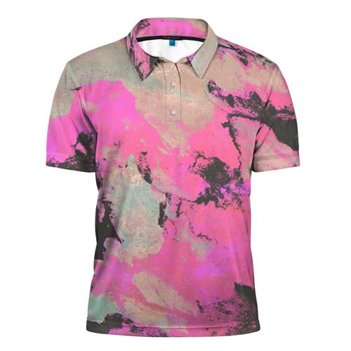 Мужская рубашка поло 3D Краска