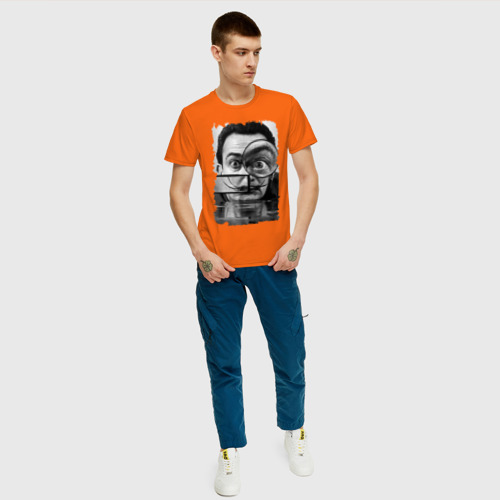 Мужская футболка хлопок Сальвадор Дали Фото 01