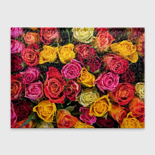 Обложка для студенческого билета  Фото 01, Цветы