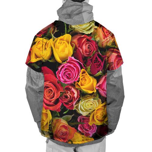 Накидка на куртку 3D  Фото 02, Цветы